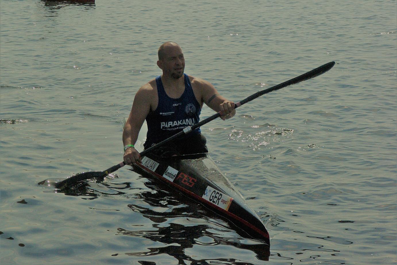 Ivo Kilian in seinem Kanu | Foto: Christel Schlisio
